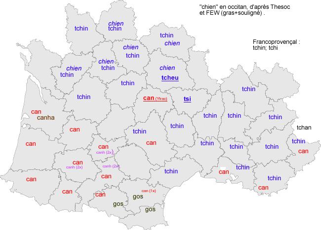 C Etymologie Occitane