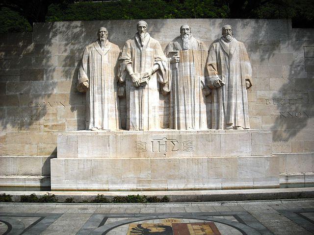 Mur de la Réformation à Genève