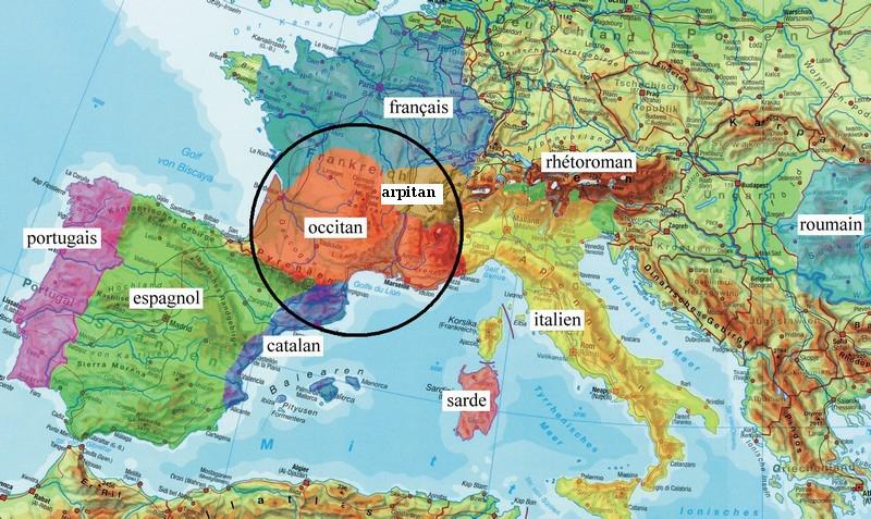 g | Etymologie occitane