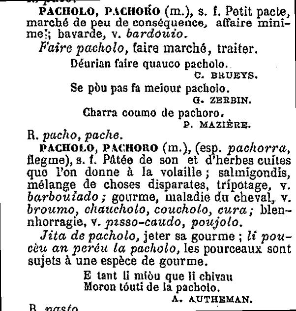 sémantique | Etymologie-occitane